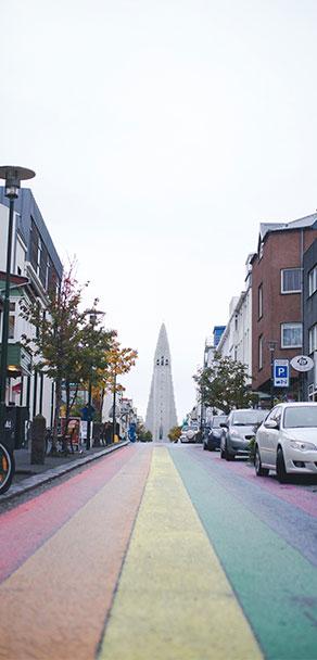 Skólavörðustígur Street