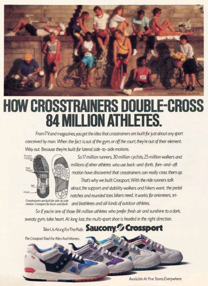 How crosstrainers double-cross 84 million athletes