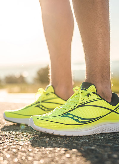 Kinvara 10 in yellow