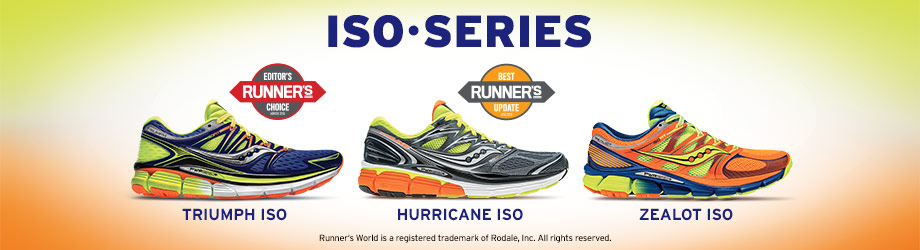 Saucony ISO Series