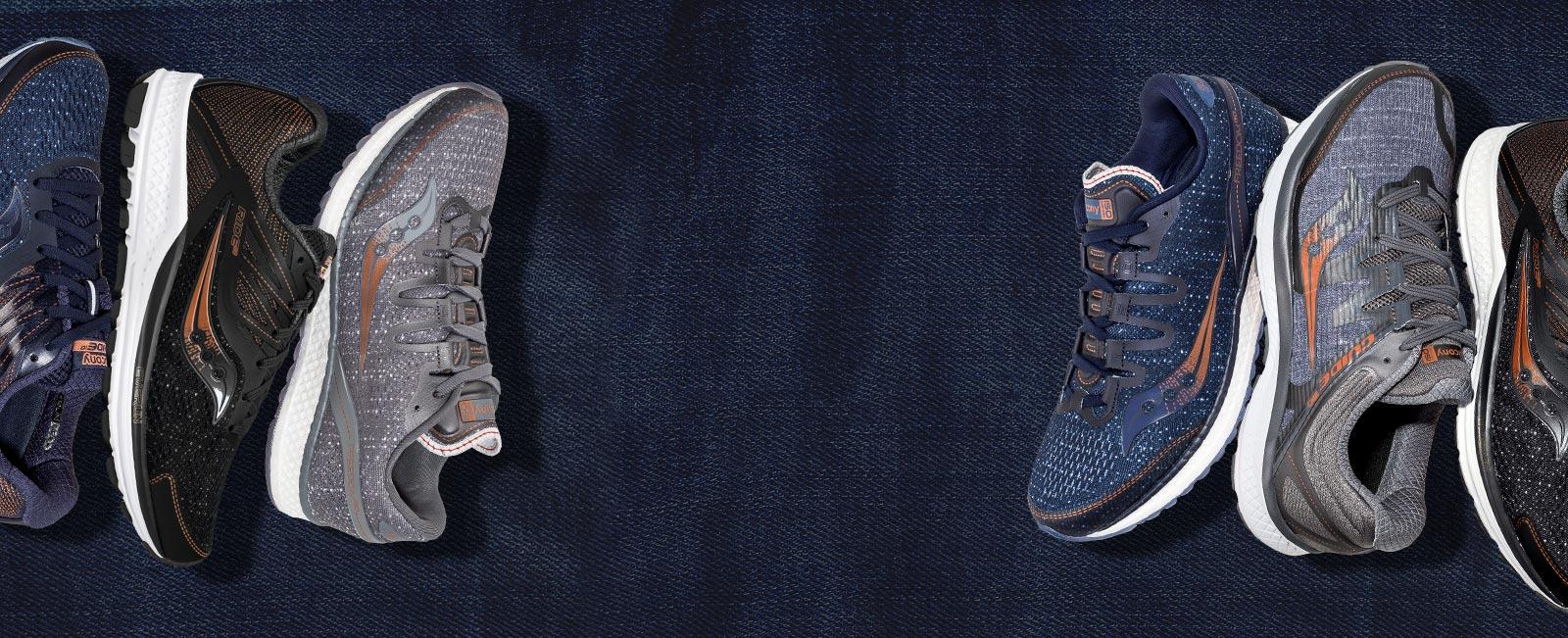 Saucony - Denim Shoe Collection