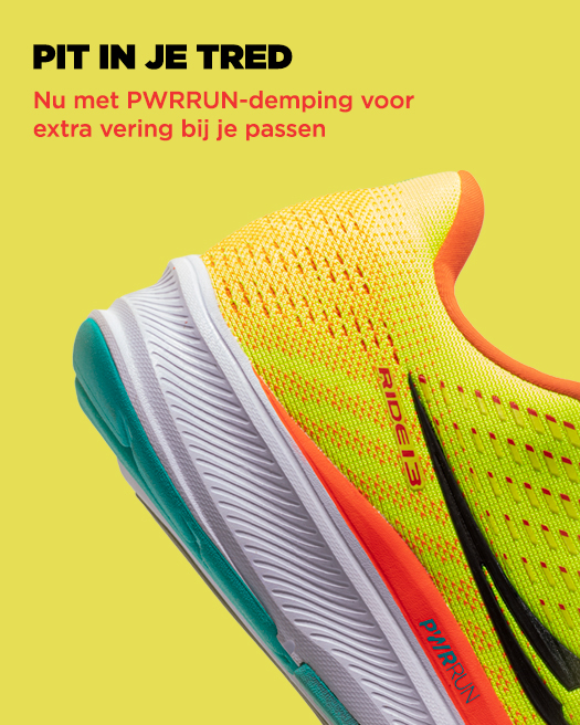 Now with PWRRUN cushioning for more spring in your stride