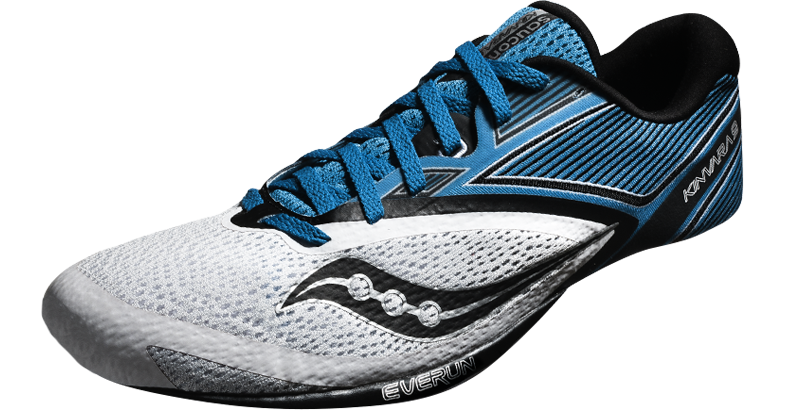 Upper construction of Saucony's Kinvara 9