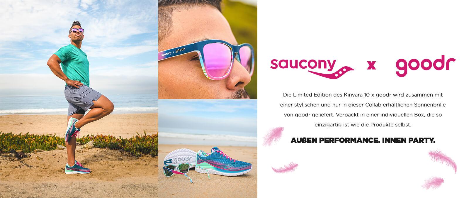 Saucony x goodr