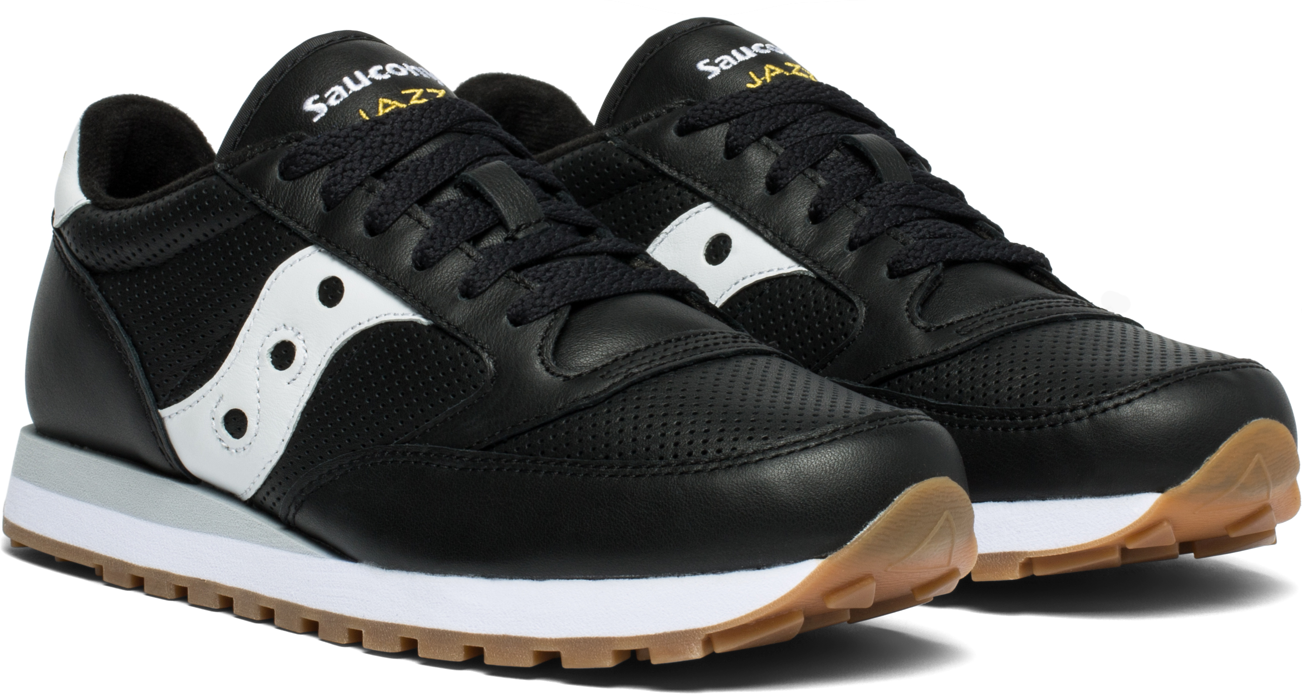 The Jazz Original shoe in black leather