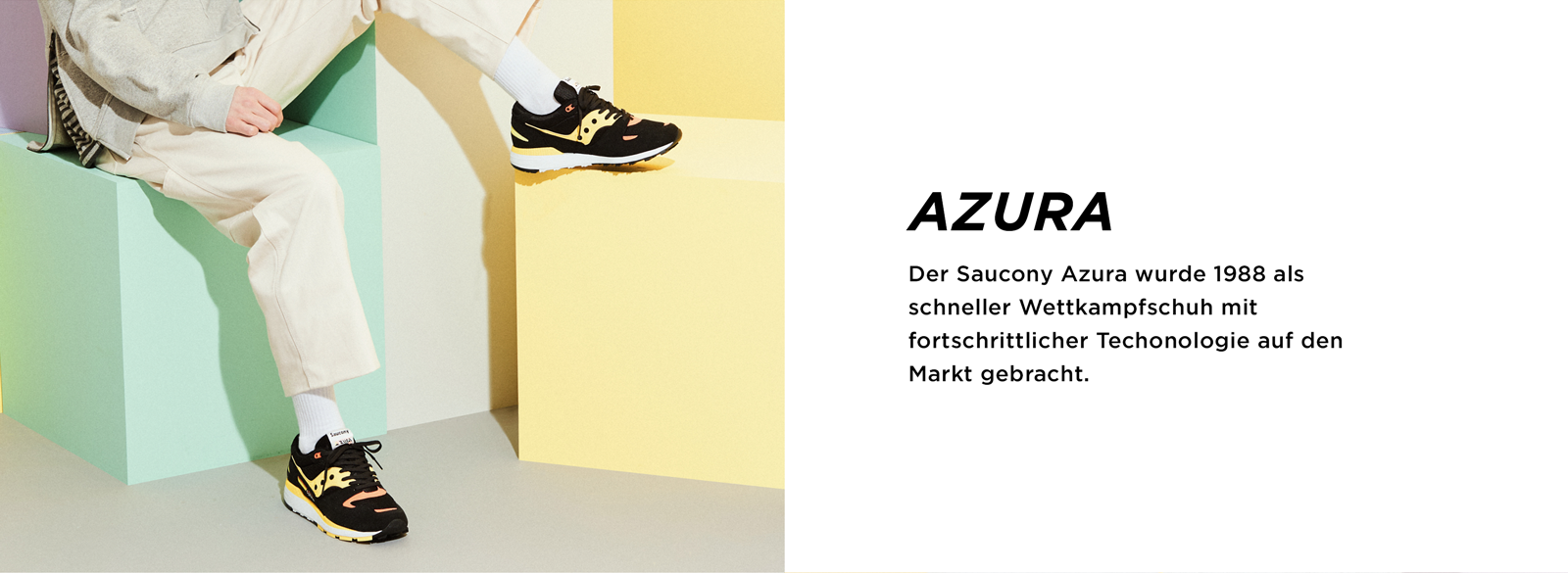 Saucony Azura Released In 1988