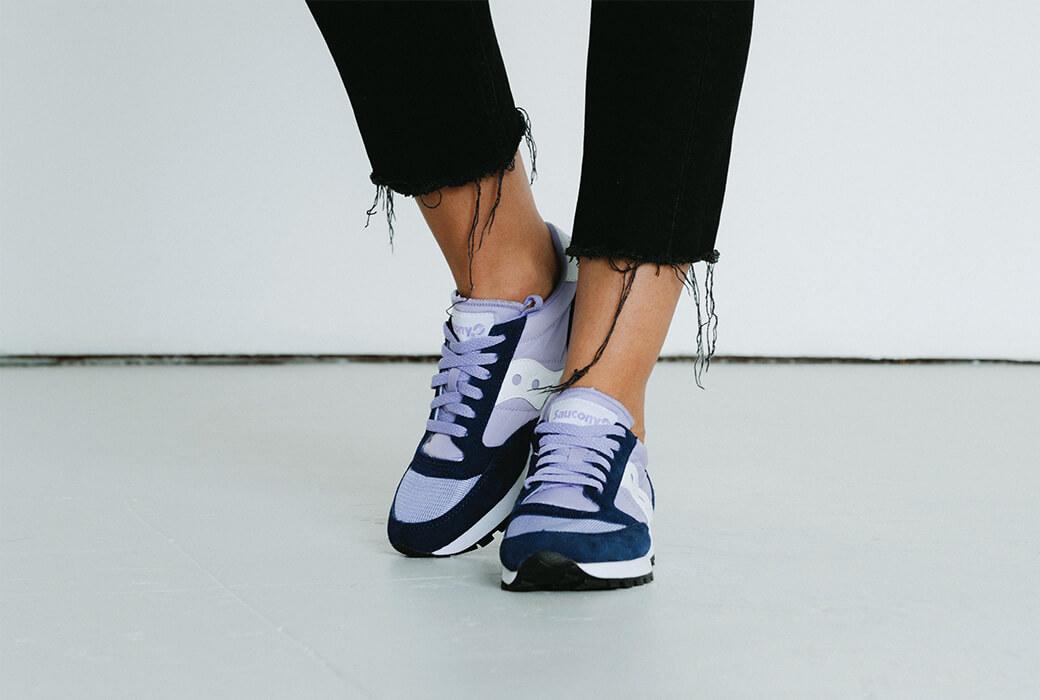 People wearing Jazz Original Shoes