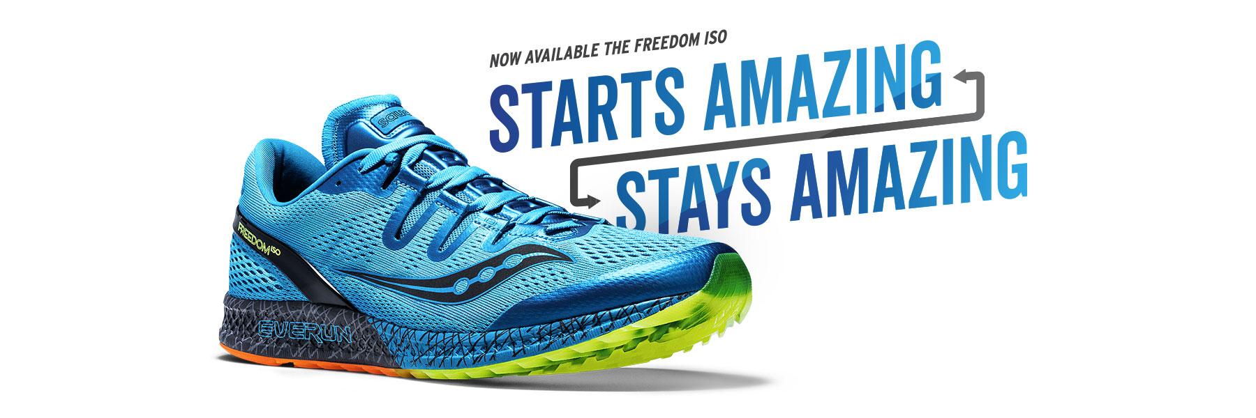 Now Available, the Freedom ISO – Starts Amazing, Stays Amazing