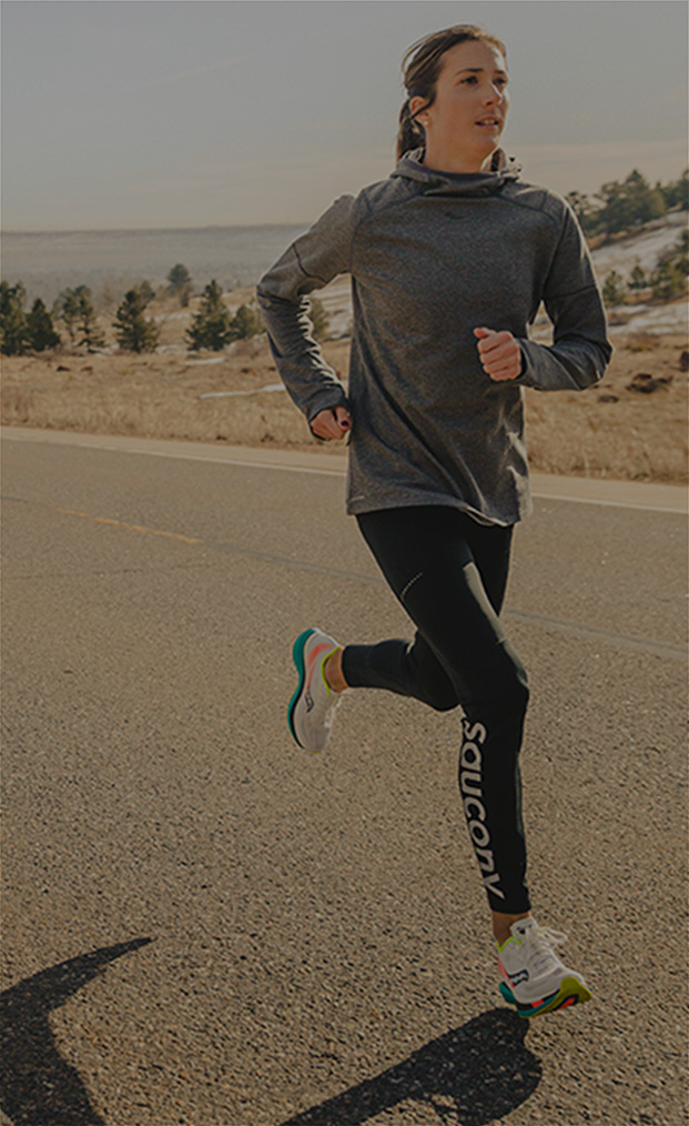 Laura Thweatt, <br/>Saucony Athlete