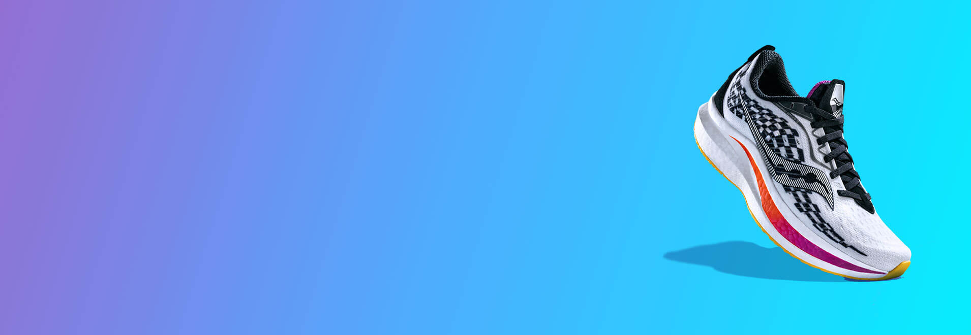 Blue gradient with Endorphin Speed.