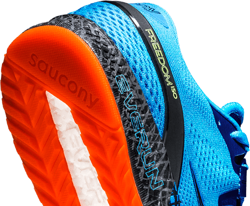 ISO-Fit outsole — For Closer Fit