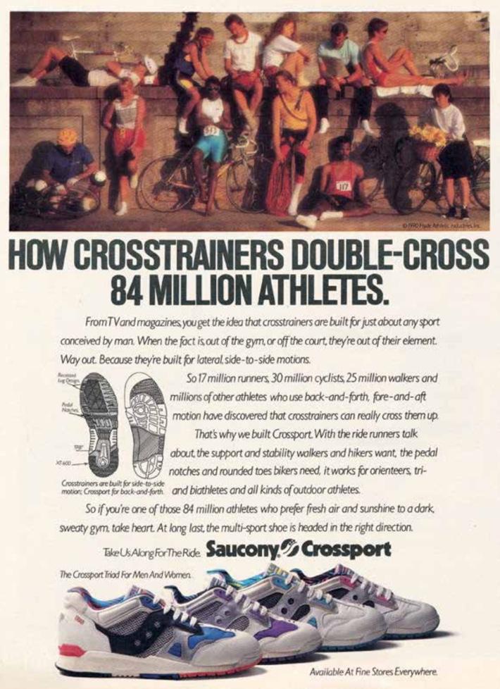 How crosstrainers double-cross 84 million athletes