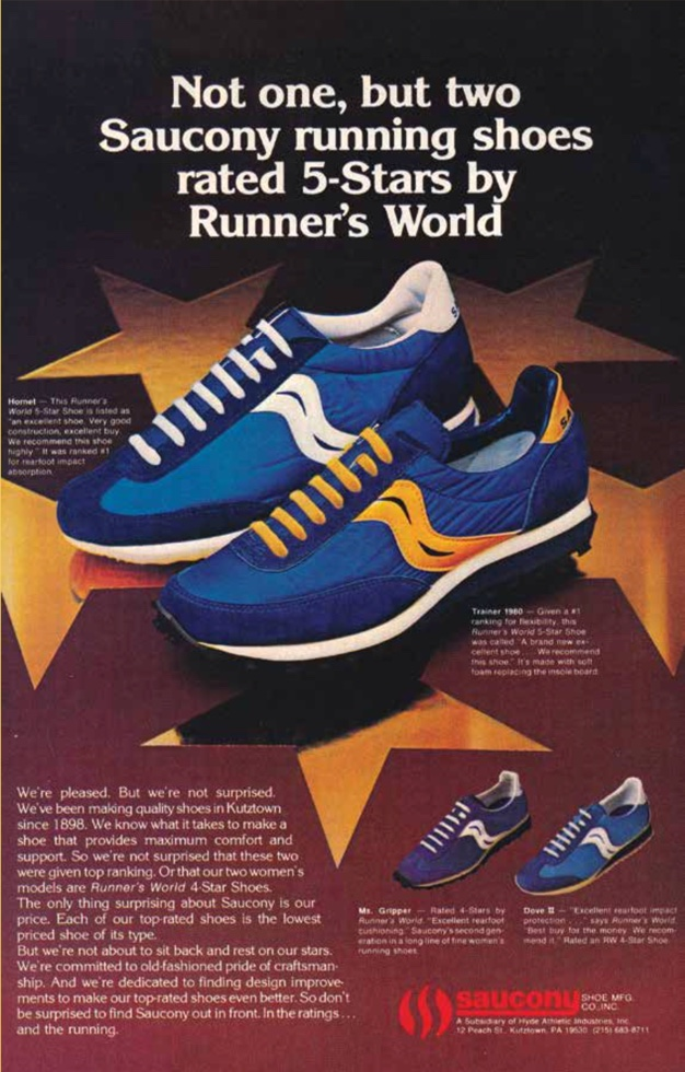Not one, but two Saucony running shoes rated 5-stars by Runner's World