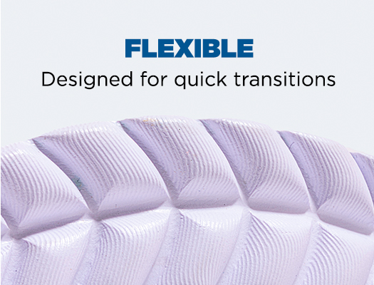 Flexible. Designed for quick transitions.