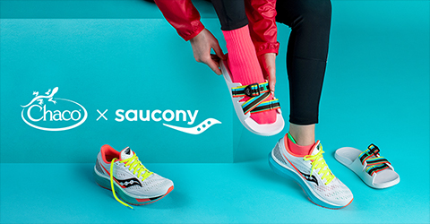 Chaco and Saucony Chillo Endorphin Collaboration Sandals