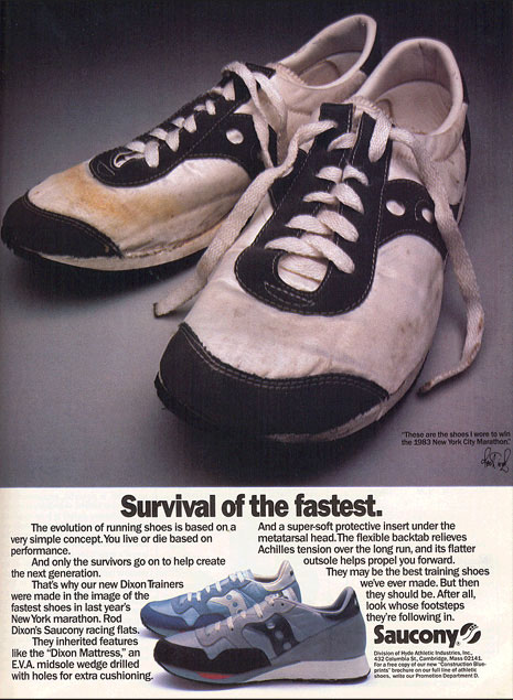 84bfd83847a5 Saucony History - Shoe Designer   Manufacturer