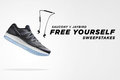 Saucony | Free Yourself Sweepstakes