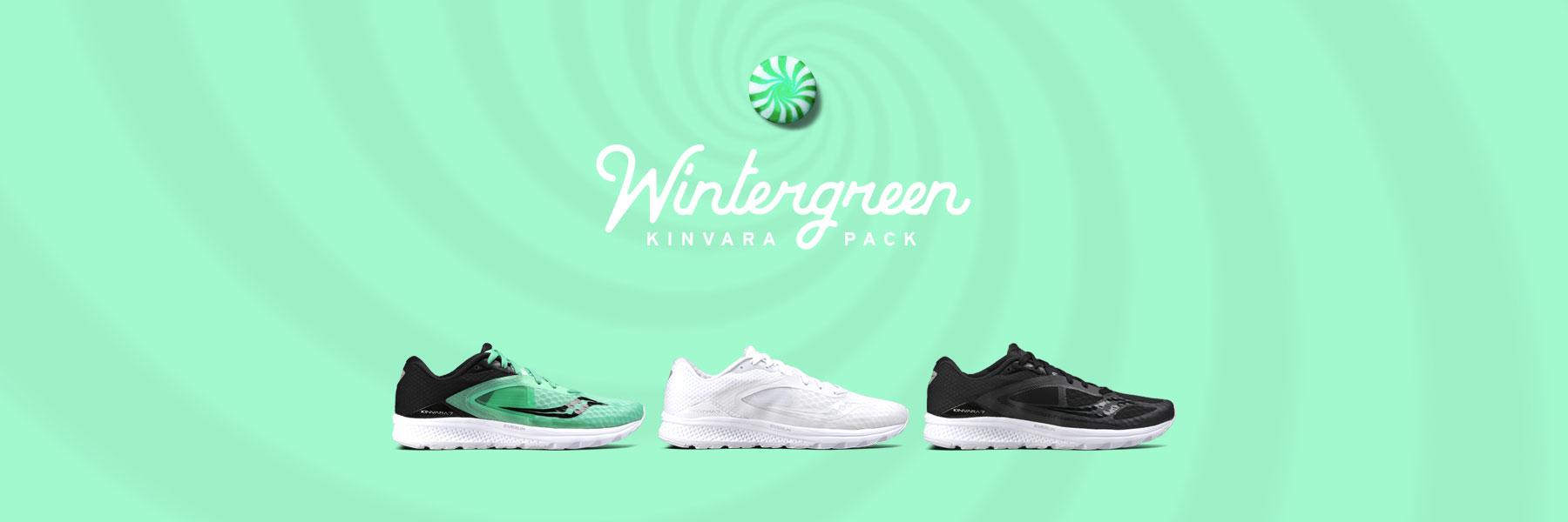 Saucony's Wintergreen Kinvara Pack