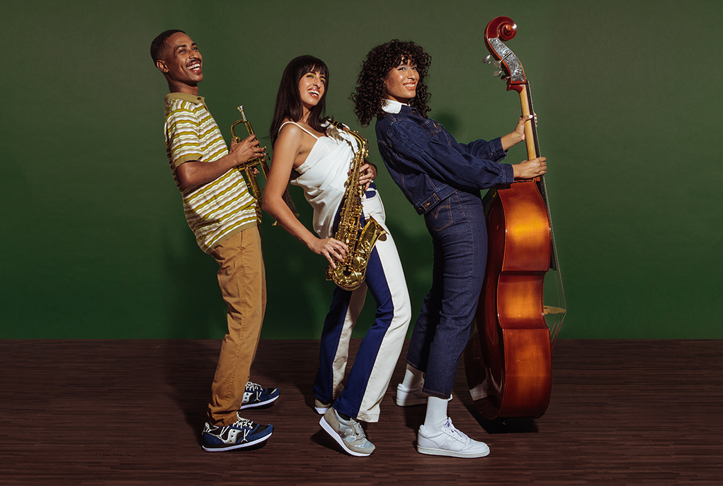People wearing Jazz Original Shoes