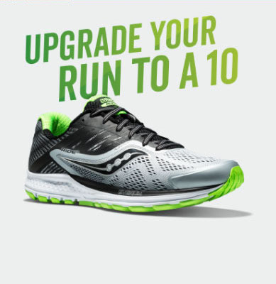 Saucony – Pre-order the Ride 10