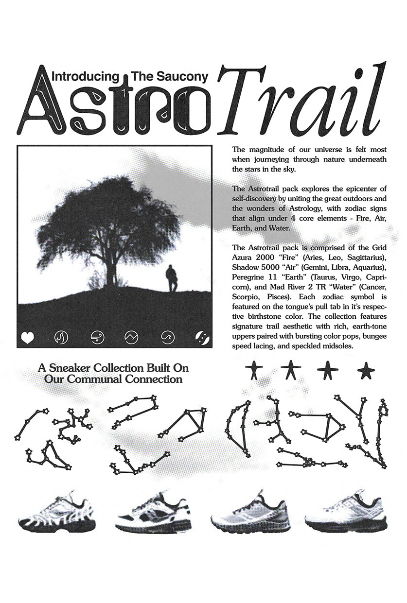 Saucony Astrotrail news article.
