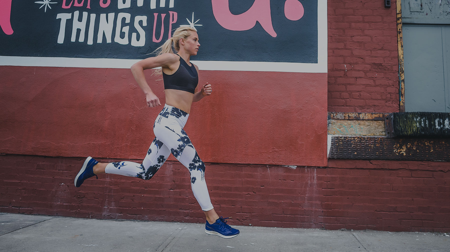 Life on the Run - Saucony apparel beyond the run.