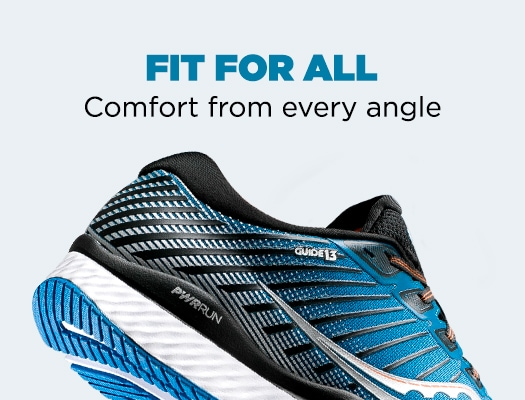 Fit for all. Comfort from every angle.