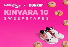 Shoes surrounded by donuts