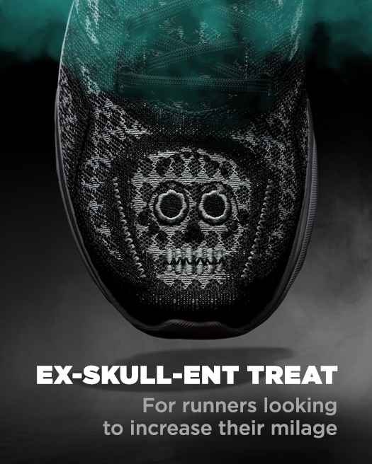 Ex-SKULL-ent treat for runners looking to increase their milage.