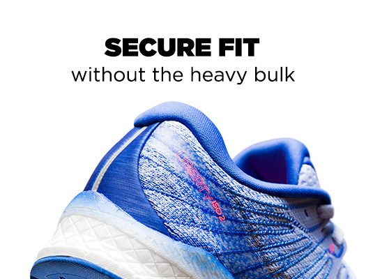 Secure Fit without the heavy bulk