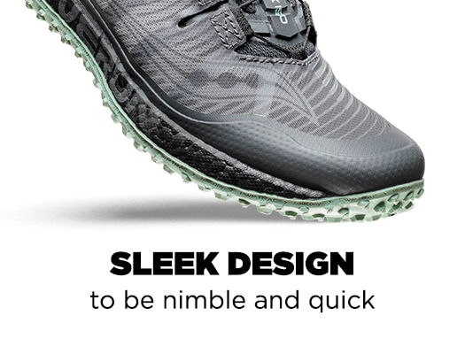 Sleek Design to be nimble and quick