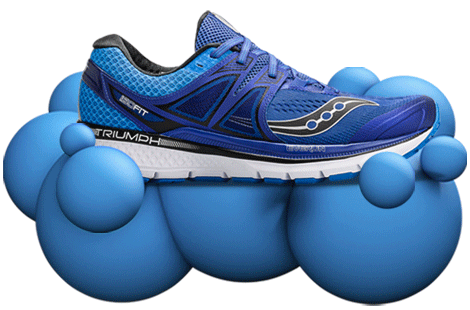 Triumph ISO 3 with Everun Continuous Cushioning