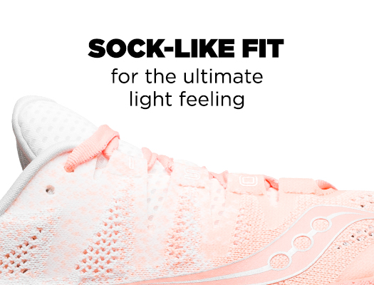 Sock-Like Fit for the ultimate light feeling