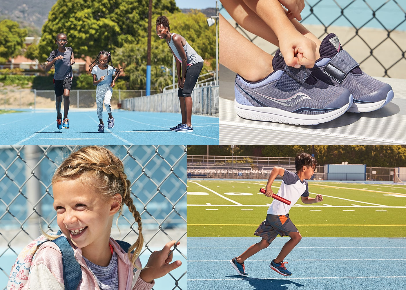 Gallery of kids wearing the Saucony Kinvara 11