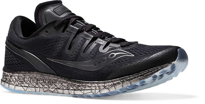 Saucony Freedom ISO in black ... 3d0fb5b63df