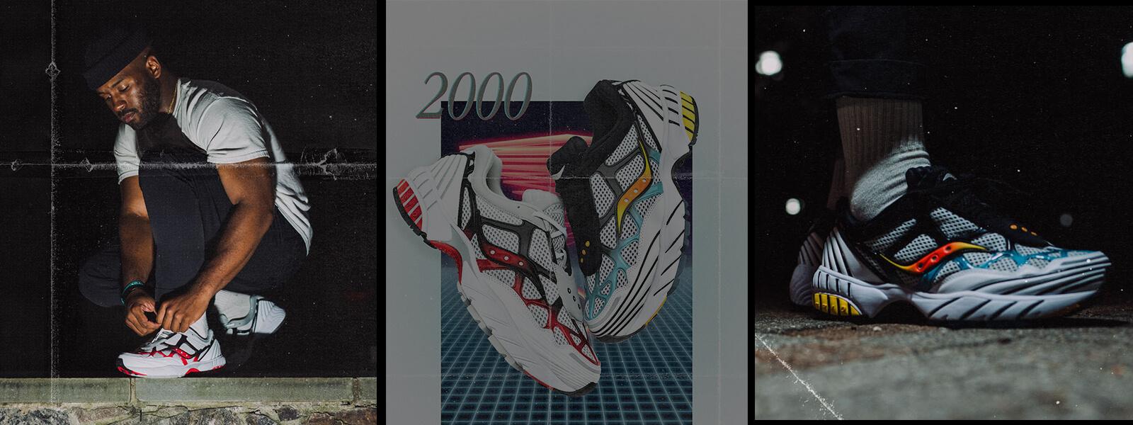 Grid Web Shoe