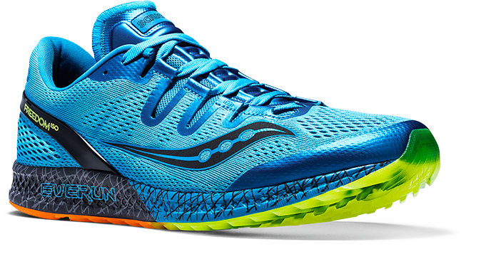 Saucony Freedom ISO in black Saucony Freedom ISO in blue ... c24d100a9