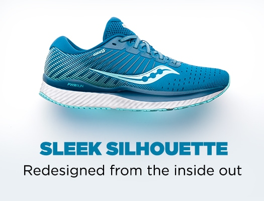 Sleek silhouette. Redesigned from the inside out.
