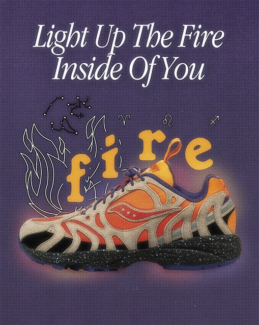 FIRE. Light up the fire inside of you.