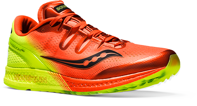Saucony Freedom ISO in orange