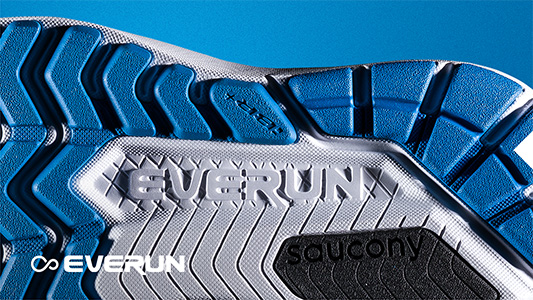 Saucony Ride ISO with Everun technology
