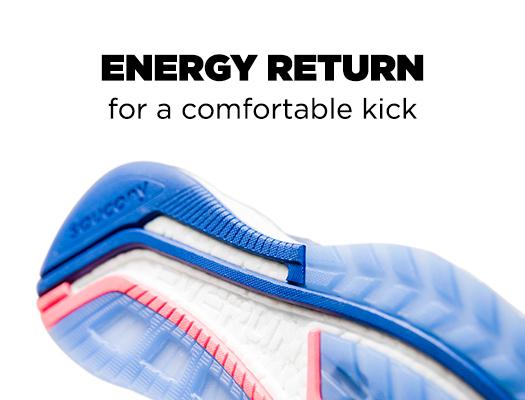 Energy Return for a comfortable kick