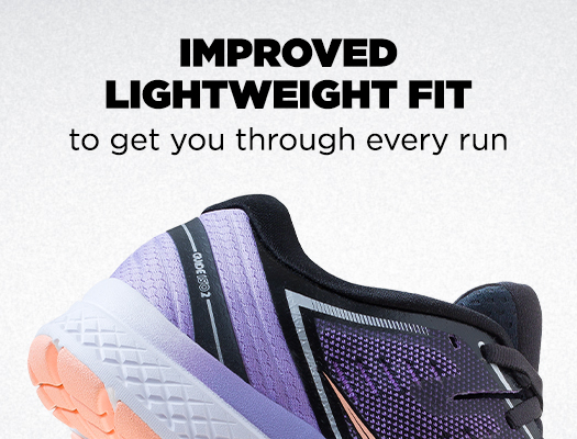 Improved Lightweight Fit to get you through every run