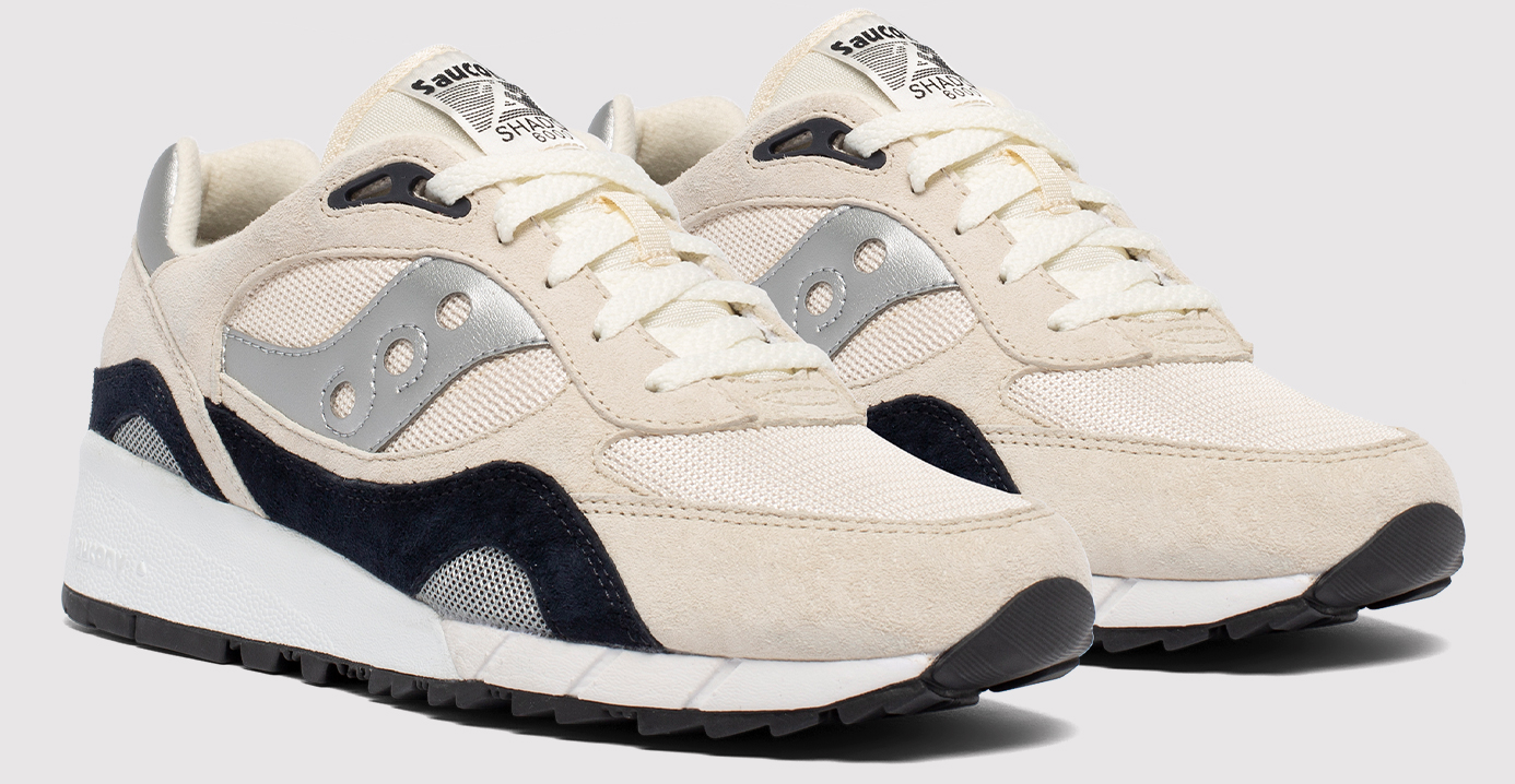 Pair of Shadow 6000 Shoes in Antique Silver.