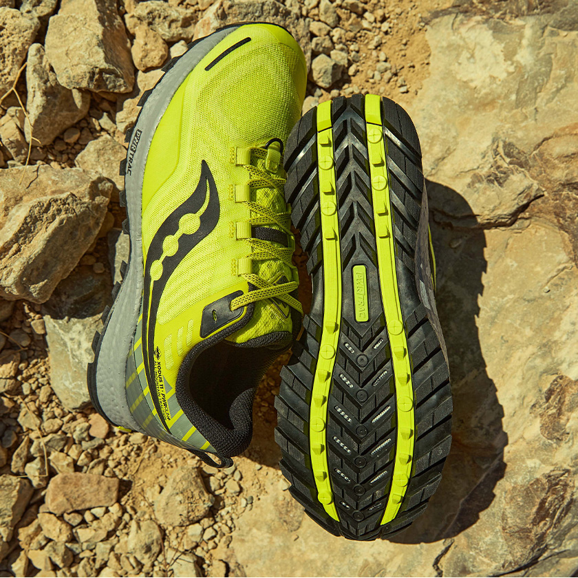 The Xodus11 in green and black.