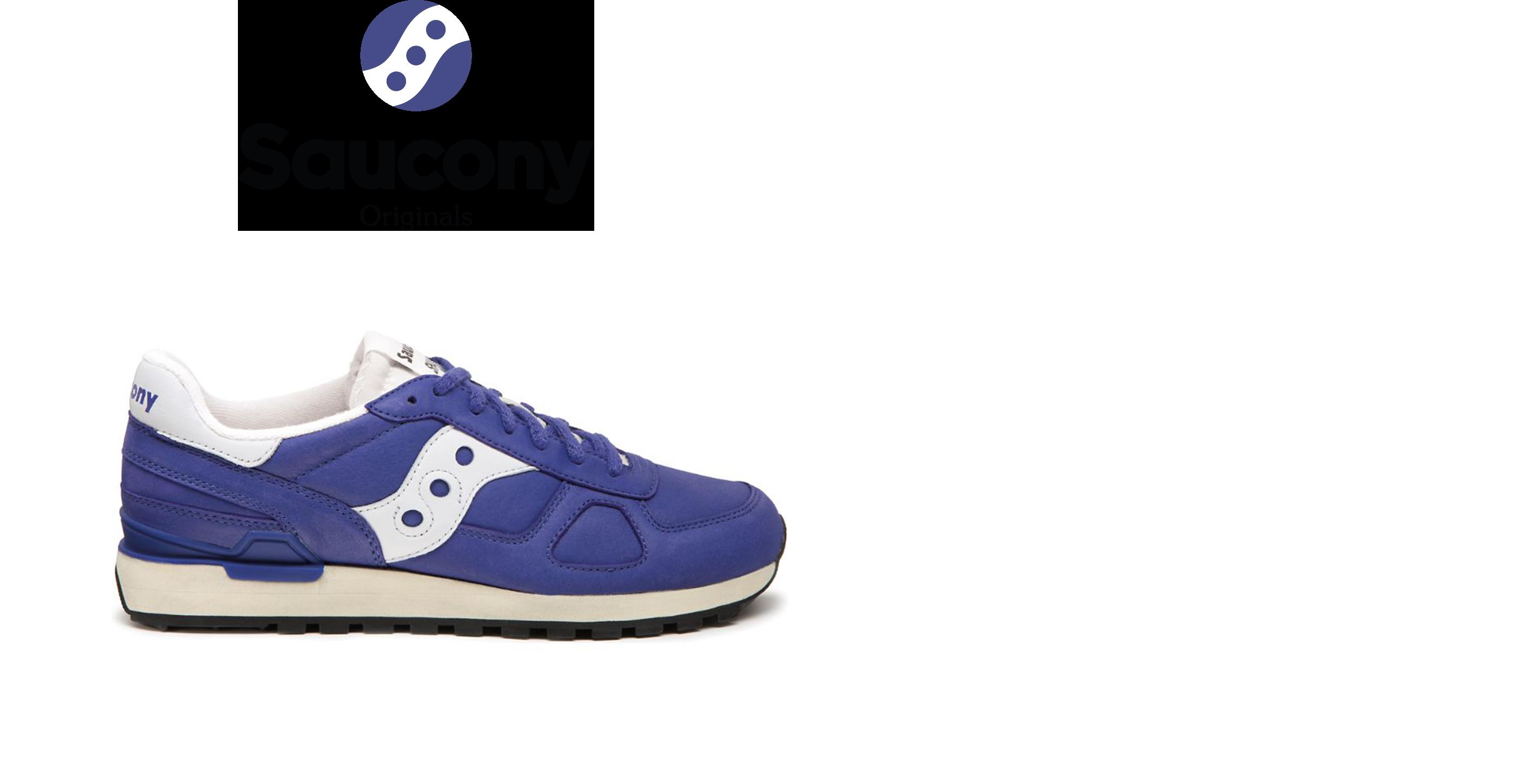 Saucony Shadow Original in Blue.