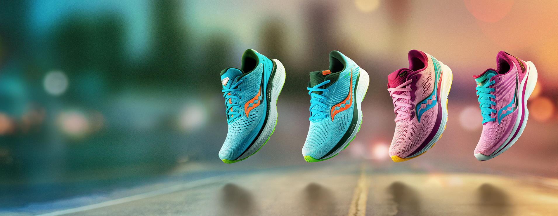 The Future Spring Pack in light blue and pink.