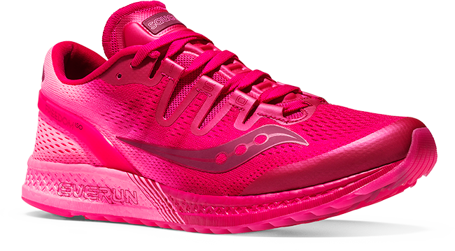 ... Saucony Freedom ISO in pink ... 1e6df1324