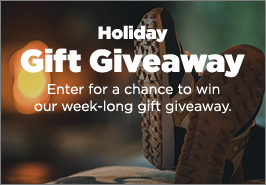 Holiday Gift Giveaway. Enter for a chance to win our week-long gift giveaway.