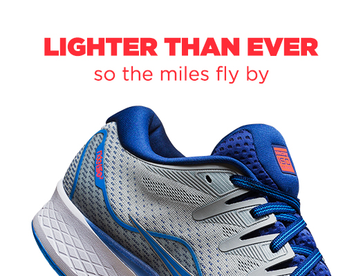 Lighter Than Ever so the miles fly by